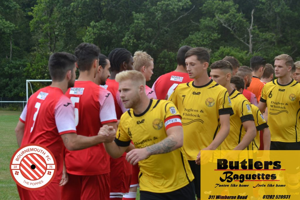 Bournemouth lock horns with Bashley in the Bournemouth Senior Cup quarter-finals.